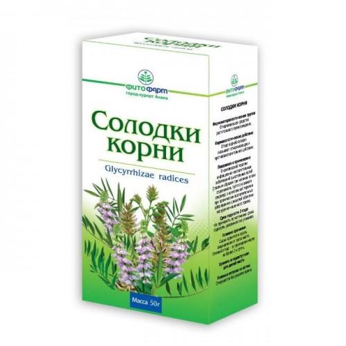 Купить Солодки корни 50г пачка в Москве и Мытищах на сайте Городская аптека с доставкой на дом