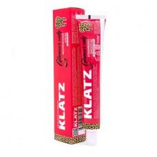 Зубная паста для девушек Klatz glamour only Земляничный смузи 75мл