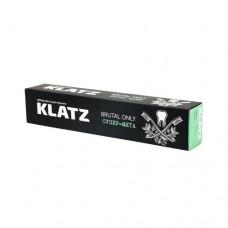 Зубная паста для мужчин klatz brutal only Супер-мята 75мл