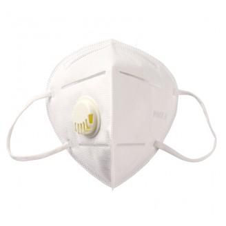 Респиратор - маска MASK KN95 FFP2 до 12 ПДК с клапаном