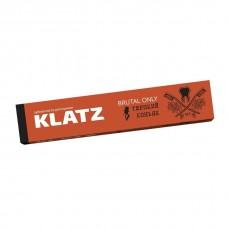 Зубная паста для мужчин klatz brutal only терпкий коньяк 75мл