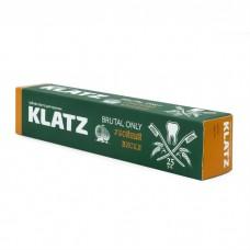 Зубная паста для мужчин klatz brutal only Убойный виски 75мл