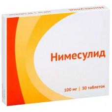 Нимесулид таблетки 100мг №30