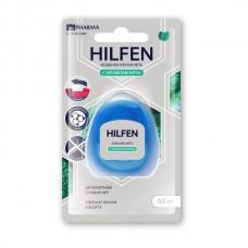 Зубная нить Хилфен мята 50м