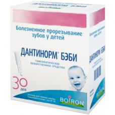 Дантинорм бэби 1мл/1д №30 р-р д/вн. приема гомеопат.конт.