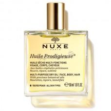 Нюкс Сухое масло для лица, тела, волос Huile Prodigieuse or 50мл