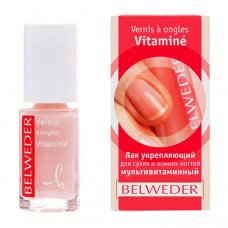 Бельведер Лак д/сух/ломких ногтей мультивитамин 8мл
