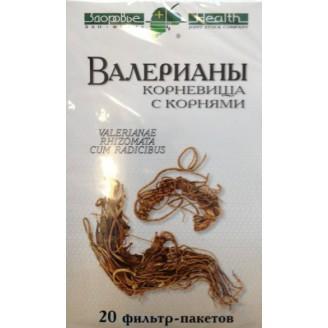 Валерианы к-ща с корн 1,5г №20 ф/п
