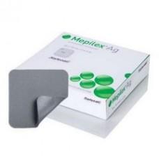 МЕПИЛЕКС Ag 10х10см антибактериальная губчатая повязка на рану №1