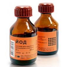 Йода спирт р-р 5%-10мл фл.