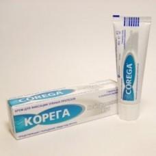 Корега 40г крем нейтральный вкус для фиксации зубных протезов