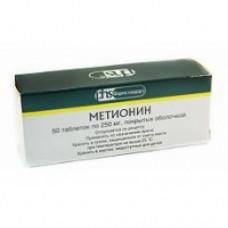 Метионин 0,25г №50 таб