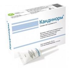 Кандинорм complex gel очищ. 30мл+восстан. 3х6мл