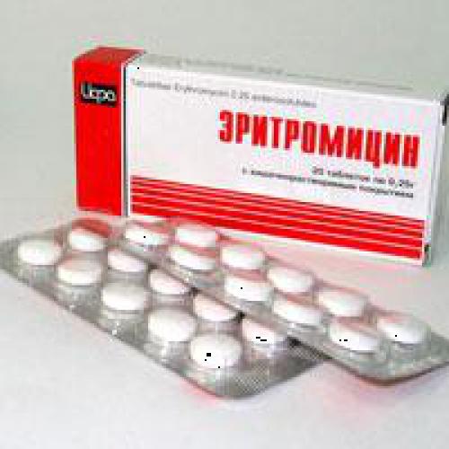 Эритромицин против простатита ихтиоловая мазь при простатите