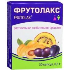 Фрутолакс 0.5 №30 капс