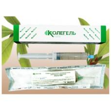 Колетекс Д салфетка гидрогелевая  с димексидом 20 г шприц