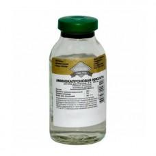 Аминокапроновая кислота 5% 100мл фл