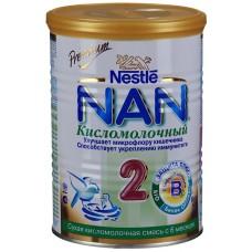 НАН 2  Кисломоломолочный Сухая Молочная смесь 400г