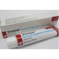 Элоком 0,1%-15г крем