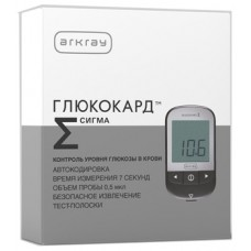 Глюкокард сигма-мини прибор д/измерения глюкозы в крови с тест-полосками