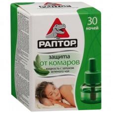 Раптор жидкость от комаров 30 ночей /зеленый чай/