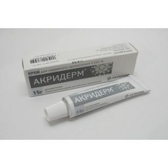 Акридерм 0,05%-15г крем