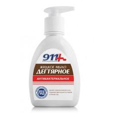 911 дегтярное мыло жидкое антибактериальное фл. 250мл